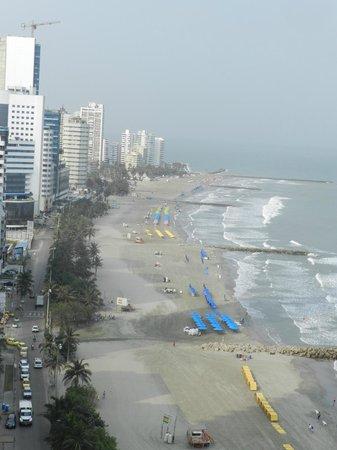 Hotel Capilla del Mar : Hermosa vista desde la habitación!!!