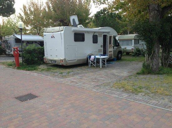 Parco Vacanze Piccolo Paradiso: Il nostro Camper ringrazia