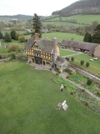 Stokesay Castle: View from battlements
