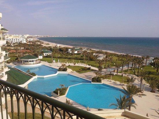 IBEROSTAR Royal El Mansour & Thalasso: vue du balcon de ma chambre