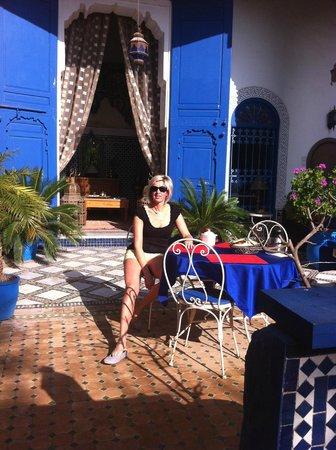 Riad Jean Claude : La terrasse
