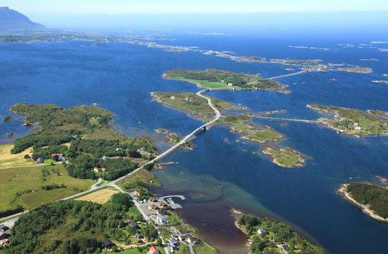 atlantvägen norge karta Atlanterhavsveien   Bild från Averoy Municipality, Møre og Romsdal  atlantvägen norge karta