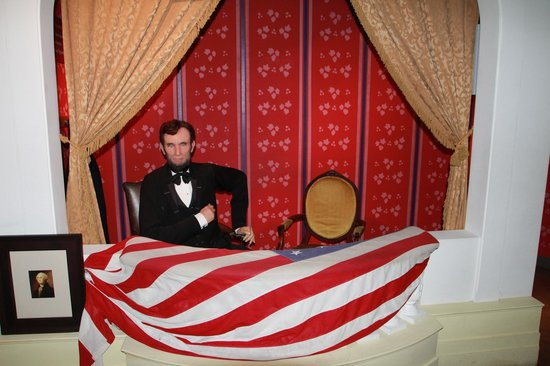 Madame Tussauds DC : Lincoln