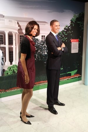 Madame Tussauds DC : Los Obama
