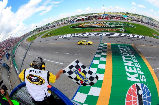 Cincinnati, OH: NASCAR at Kentucky Speedway. Photo by HHP.