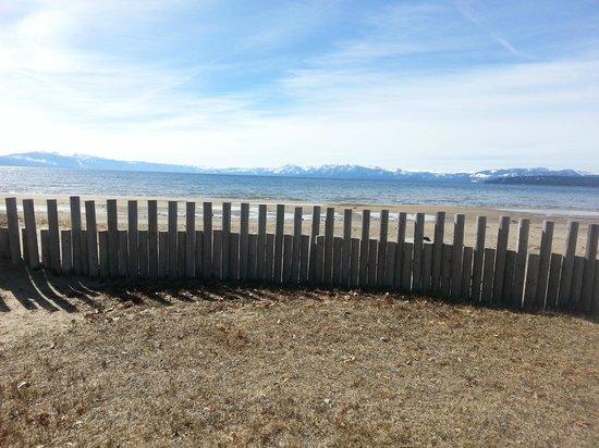 Tahoe Sands Resort : Our Beach