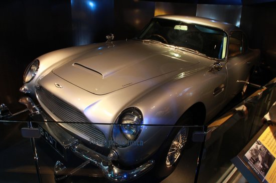 International Spy Museum : Auto tipo James Bond