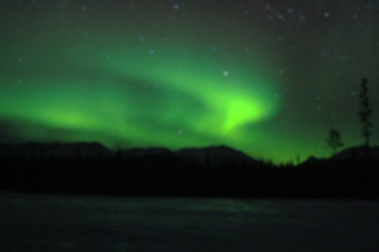 Northern Lights Resort & Spa : dancing lights