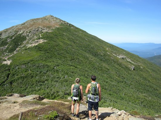 Mount Lafayette : Almost on top