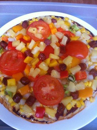 Belcehan Beach Deluxe Cafe Bistro: pizza