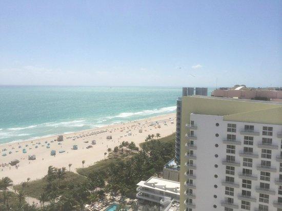Loews Miami Beach Hotel: Вид с терассы