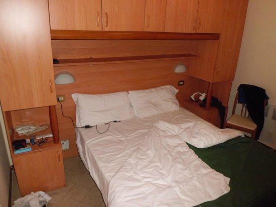 Hotel Sacro Cuore: la piccola cameretta