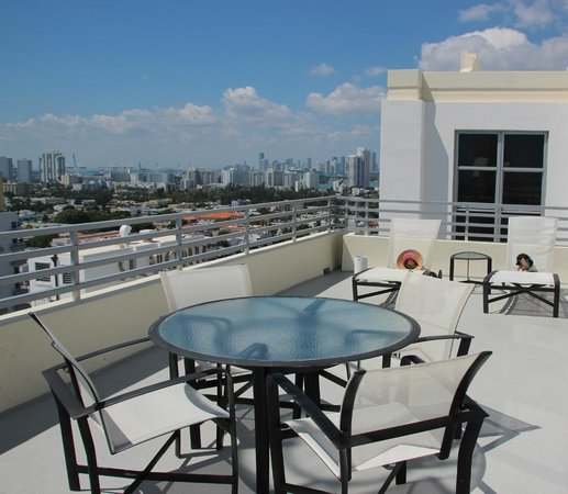 Loews Miami Beach Hotel: Терасса