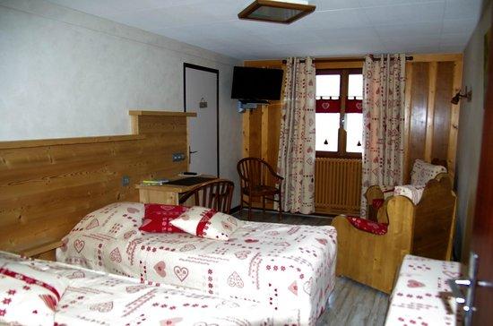 Hotel Le Pre Fillet: La chambre 12