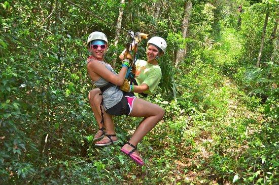 Aktun Chen: Zipping through the jungle!