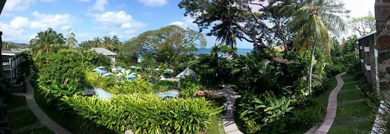 Rendezvous Resort: Panoramic view from room 308