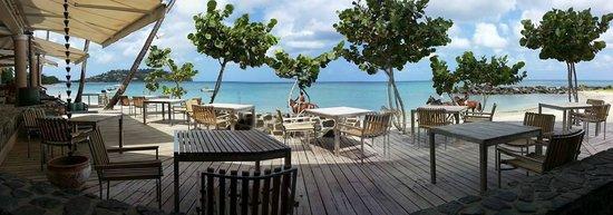 Rendezvous Resort: Panoramic view from Terrace Restaurant