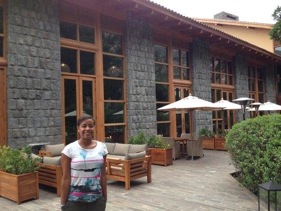 Tambo del Inka, a Luxury Collection Resort & Spa : Terraza del Restaurante