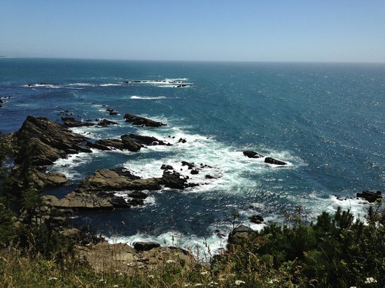 Cape Arago State Park : Dramatic churning of the sea