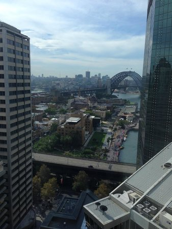 Marriott Sydney Harbour at Circular Quay: View from room