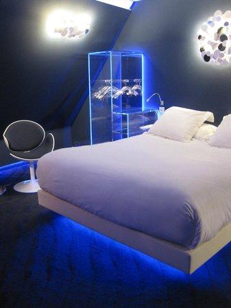 Seven Hotel Paris: chambre