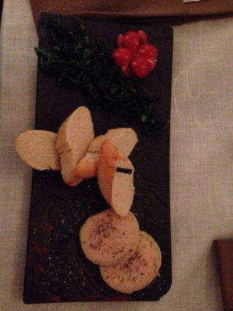 Restaurant La Tour du Plan : Foie gras maison