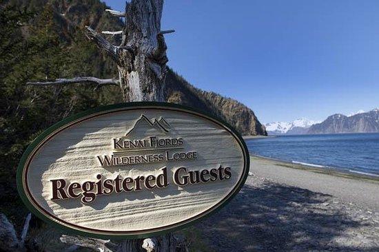 Welcome to Kenai Fjords Wilderness Lodge on Fox Island