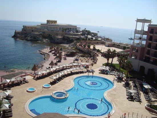 The Westin Dragonara Resort, Malta: Vista do nosso quarto diurna