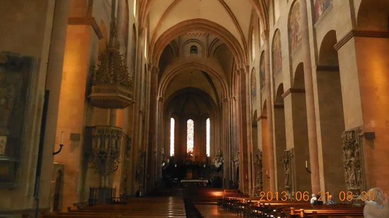 Mainzer Dom: Interior