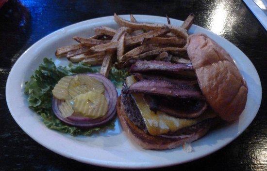 Zim's Brau Haus Restaurant & Sports Bar: Big Ol' Burger...