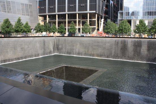 Mémorial du 11-Septembre : Local onde ficava uma das torres