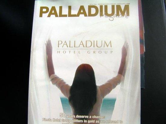 Dominican Fiesta Hotel & Casino : Palladium Group Magazine dated winter 2012 ! ! !