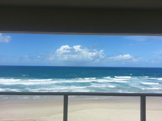 Beachfront Viscount: One of the room views
