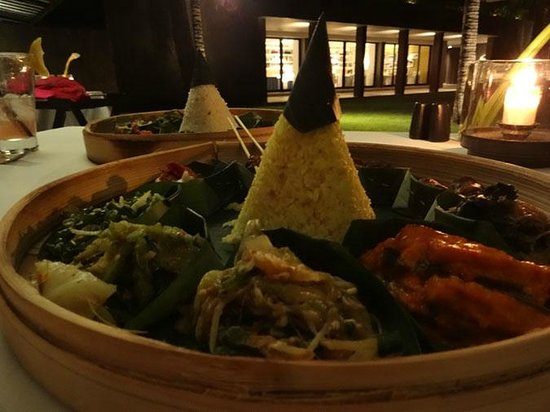 Soori Bali: at the restaurant