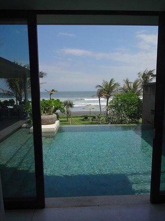 Soori Bali: view from the bedroom