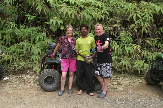 ATV Phuket Tours: with our guide