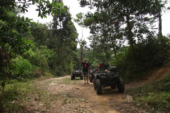 ATV Phuket Tours: jungle track