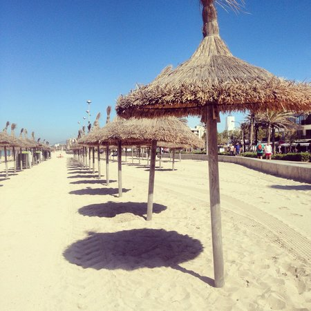 Palma Bay Club Resort : The beach just 5 mins away, very clean