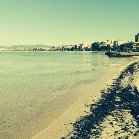 Palma-Bay Club Resort: The long beach