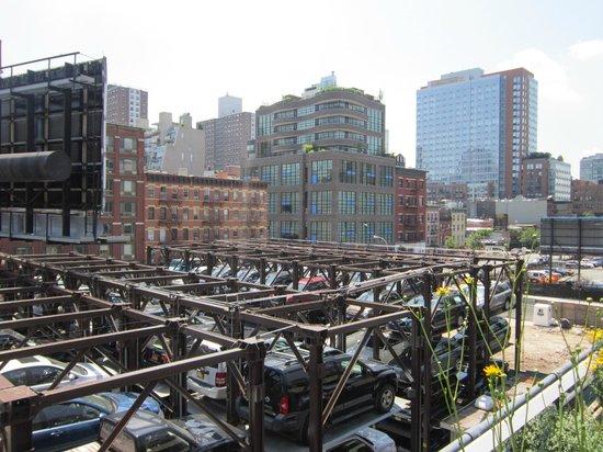 Manhattan Skyline : Vista desde la High Line