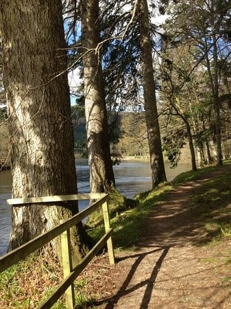 Dunkeld House Hotel: along the Tay by the hotel