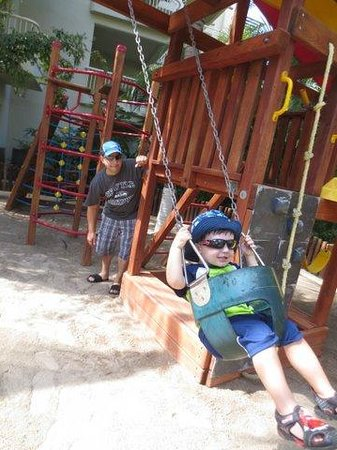 Bel Air Collection Resort & Spa Vallarta: Play equipment at Kids Club
