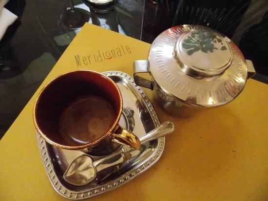 Meridionale - Trattoria a Trastevere : Koffie aangeboden door het huis