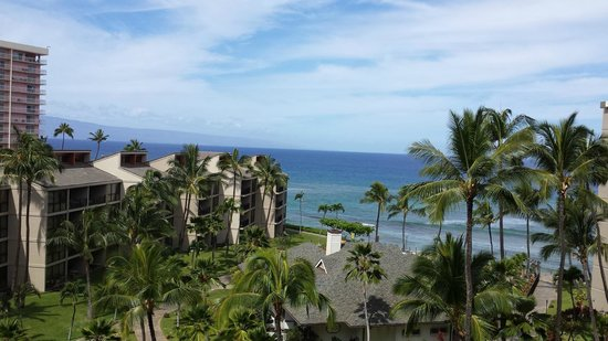 Aston Kaanapali Shores: Ocean view from the room