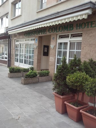 Hotel Christophe Colomb : Fachado