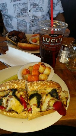 Photo of American Restaurant Luci's Healthy Marketplace at 1590 East Bethany Home Road, Phoenix, AZ 85014, United States