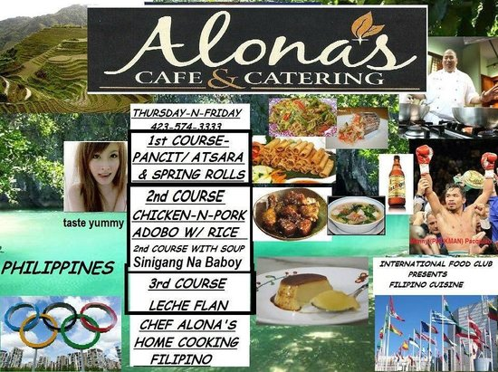 Cafe Alona: CUISINE OF PHILIPPINES APRIL 17TH-19TH WITH THE MENU RETURN OF SPRING ROLLS
