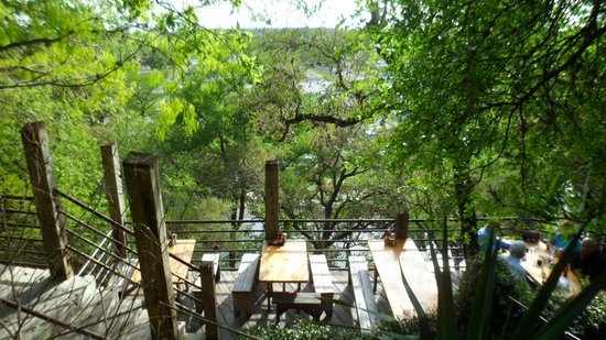 Gristmill Restaurant : view from my table