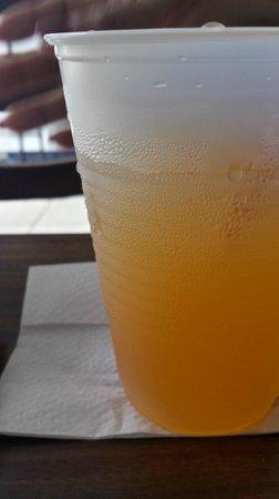 Costa Linda: House Made Parcha Lemonade Juice