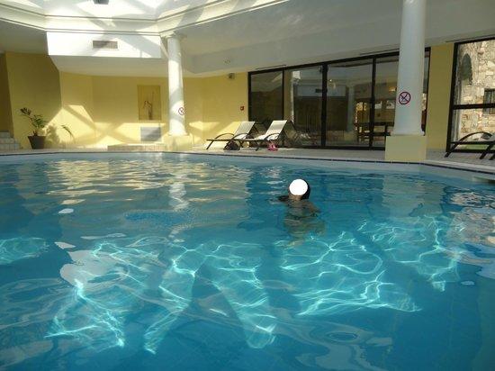 Hotel Les Jardins de Sainte-Maxime : Une piscine intérieure : un régal